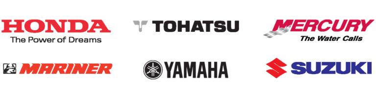 Yamaha – Honda – Suzuki – Mercury – Evinrude – Johnson – Tohatsu
